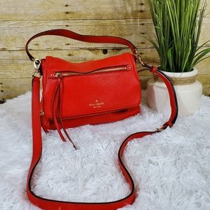 Kate Spade orange crossbody bag